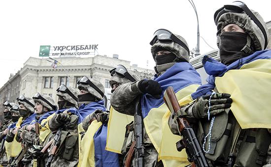 Военнослужащие украинской армии. Фото: REUTERS 2015
