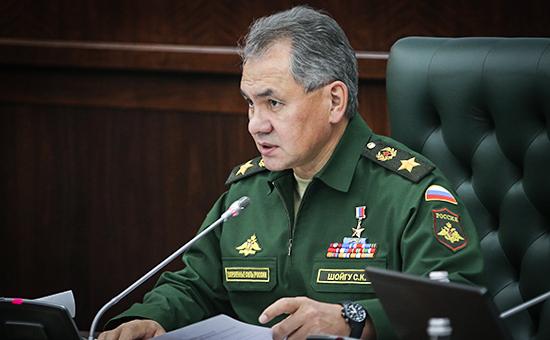 Шойгу поставил в приоритет создание мощной группировки в Крыму