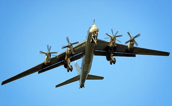 Британские истребители перехватили бомбардировщики Ту-95 над Ла-Маншем