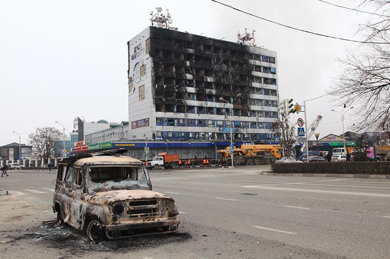 В столице Чечни погибло более 70 полицейских
