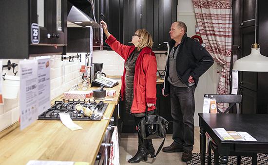 IKEA возобновила продажи кухонной мебели и бытовой техники