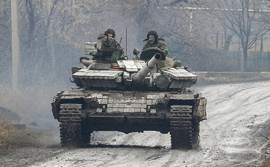 ЕС потребовал убрать вооружение с линии противостояния