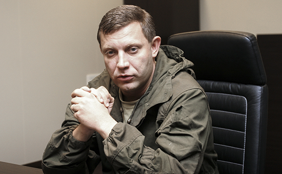 Премьер ДНР объявил о намерении взять Славянск и Мариуполь