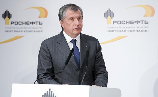Сечин оценил готовящийся к приватизации пакет «Роснефти» в $16,8 млрд