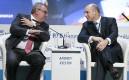 Президент – председатель правления ВТБ Андрей Костин и министр финансов Антон Силуанов (слева направо)